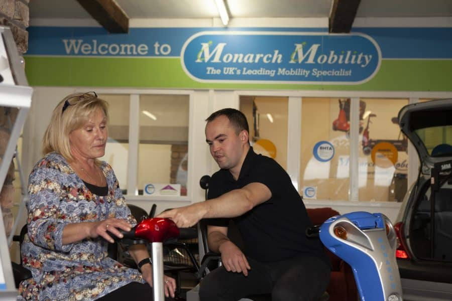 Monarch Mobility showroom image