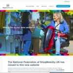 Shopmobility website