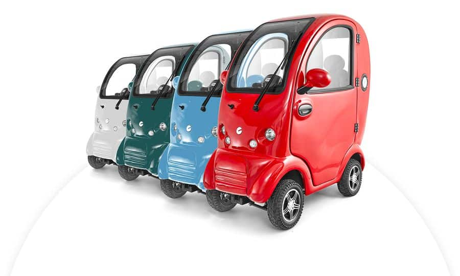 Scooterpac Cabin Cars