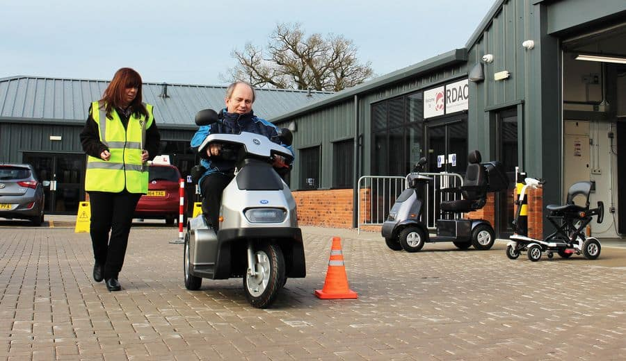 Driving Mobility Powered Wheelchair and Mobility Scooter (PWMS) Driving Safety Assessment training scheme