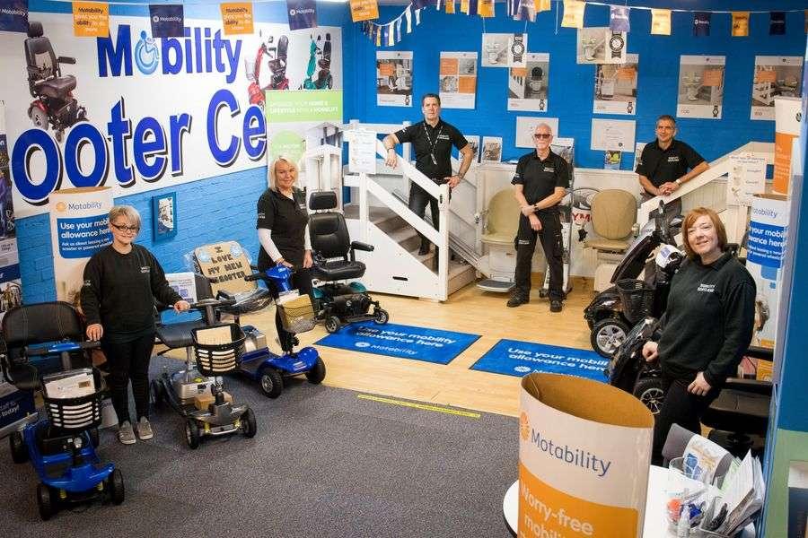 Mobility Scotland team