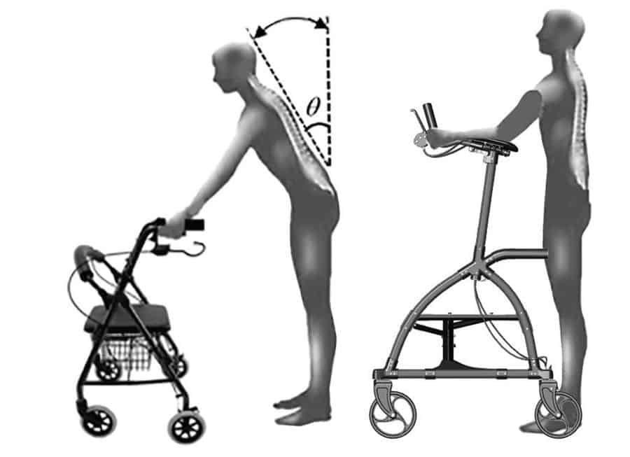 Upwalker posture by Oakley Healthcare