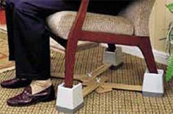 Fig. 2. An adjustable chair raiser