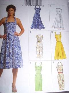 21-06-13 vogue dress pattern v8184