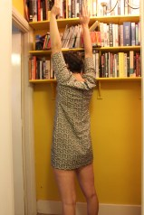 I wont' be reaching for anything on the top shelf in this dress.