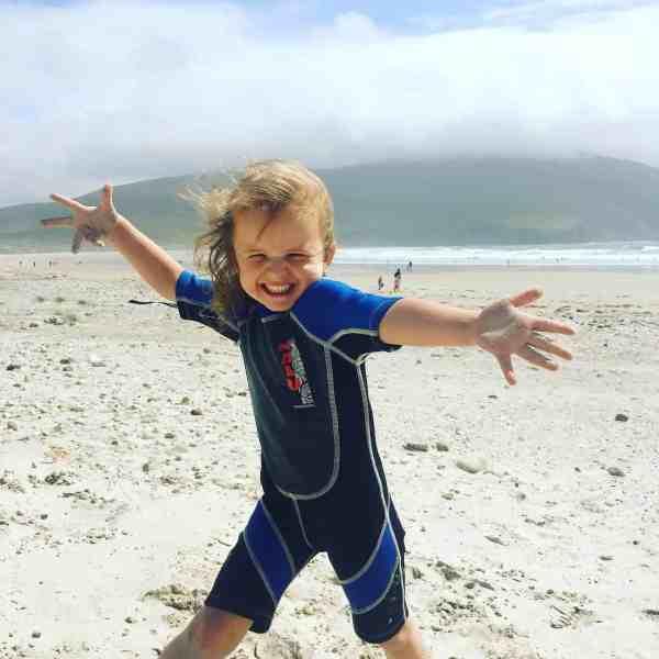 surfing for girls achill island, ireland