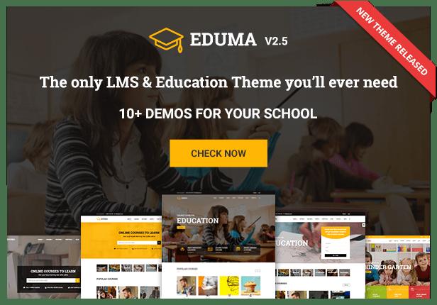 "Educação WP - LMS WordPress Theme ""title ="" Educação WP - LMS WordPress Theme"