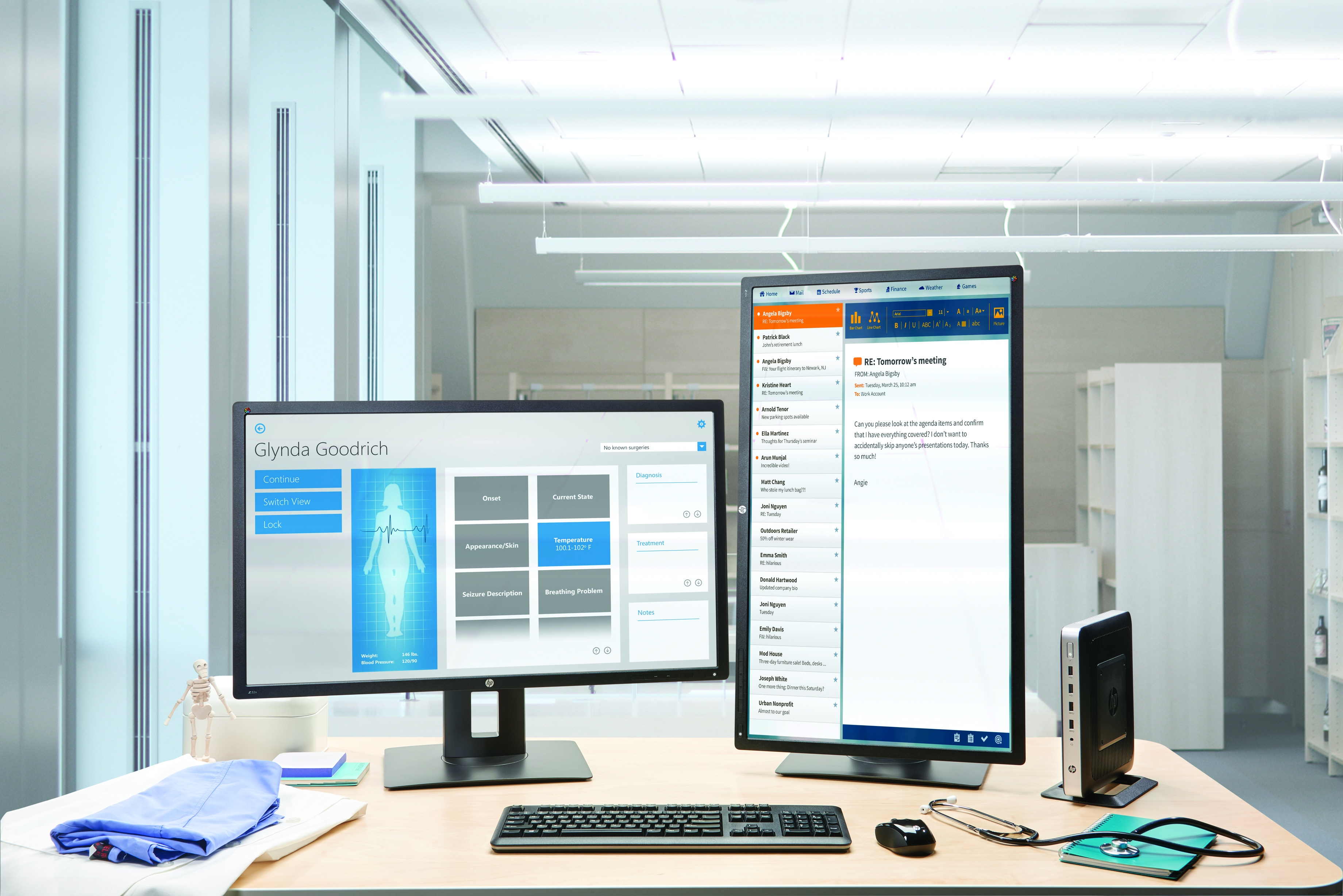 HP Thin Client with First Zero Client Support for VMware Blast