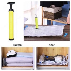 Bolsas para guardar ropa al vacio (reutilizables)