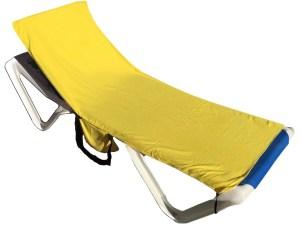 Toalla de microfibra para tumbona de playa o piscina