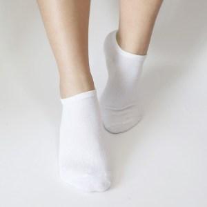 YISAMA Calcetines Personalizados con Mensajes, Taloneros 35-40 2 Pares