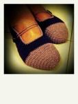 mom n her new slippers ;)