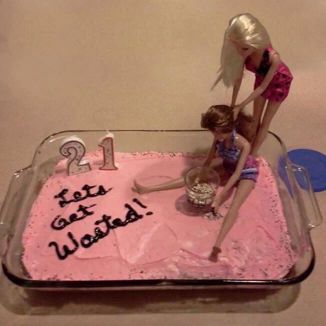 Quick 21st Birthday Cakes