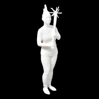 1:12 Scale Post Apocalyptic Female Warrior