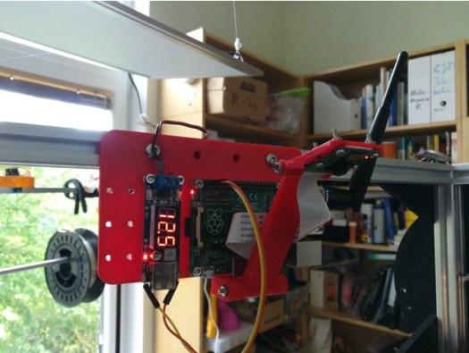 Raspberry Pi Holder Folgertech FT-5 Pi Cam 2020 Frame Octoprint