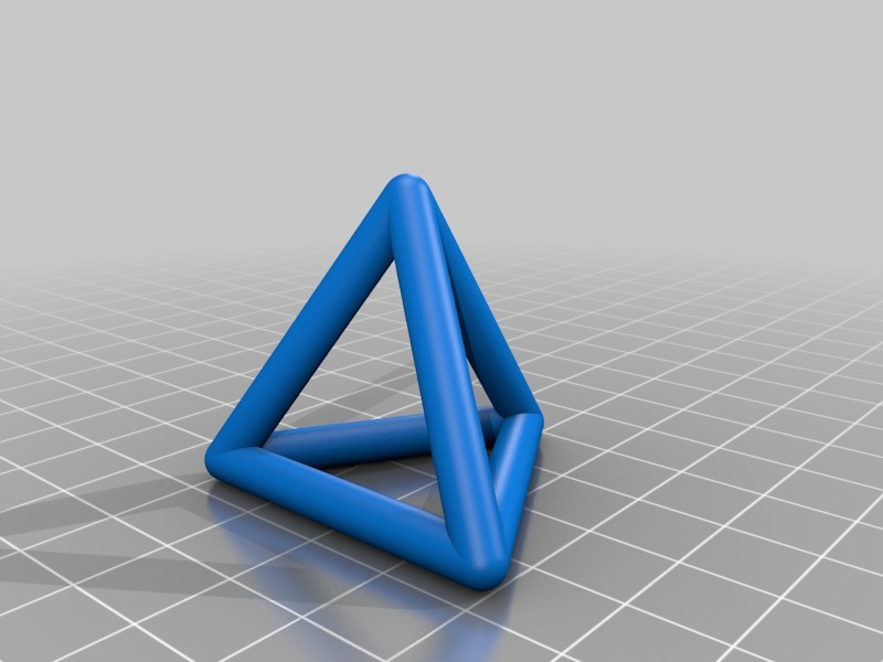 Image result for openscad hollow tetrahedron