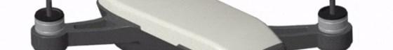 DJI Spark Quadcopter (Alpine White) CP.PT.000731 + Sony 64GB microSDXC + Card Reader + Fibercloth Bundle