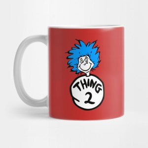Thing One and Thing Two Coffee Mugs