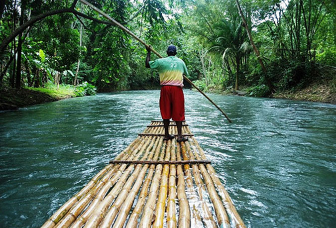 Image result for rafting in jamaica