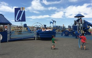 Play ground at ron wood park