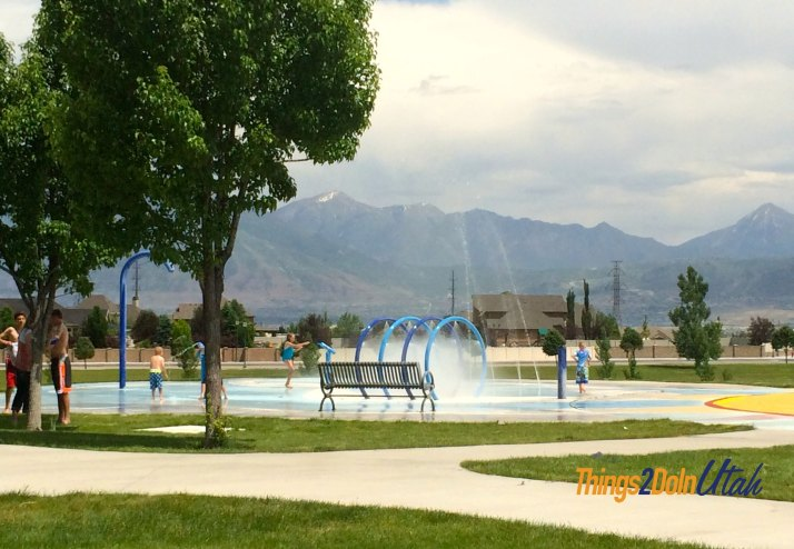 Riverton Splash pad