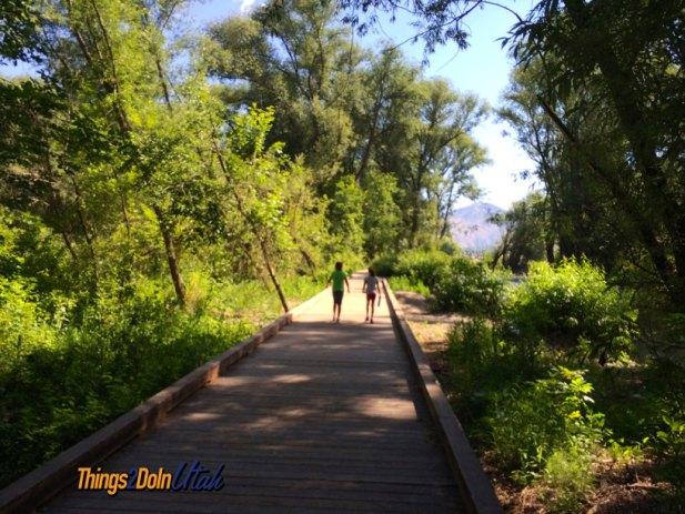 Rendezvous park walking trail logan utah