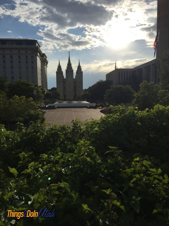 Salt Lake Temple and Temple Square
