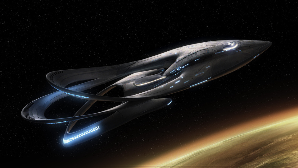 the Orville, as in the ship itself