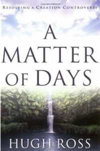 book cover of A Matter of Days by Hugh Ross