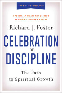 book cover of Celebration of Discipline by Richard Foster