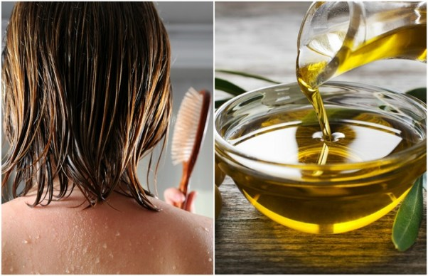 Olive Oil Hair Mask