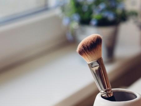 Dirty makeup sponge