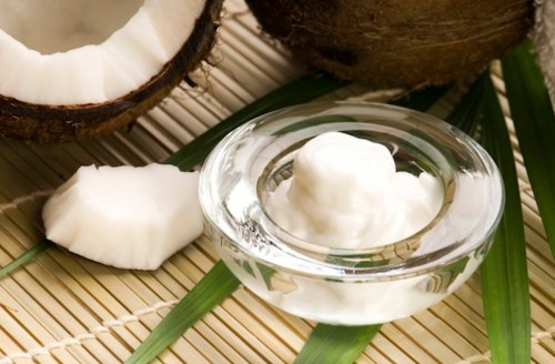 Oil Pulling White Teeth