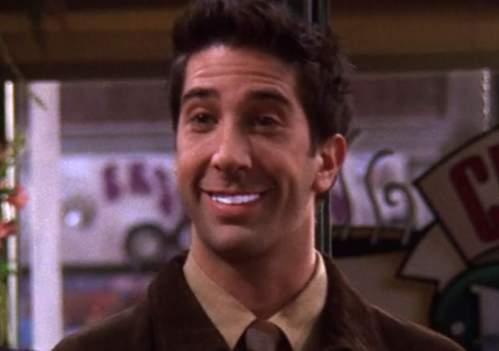 Ross Friends White Teeth