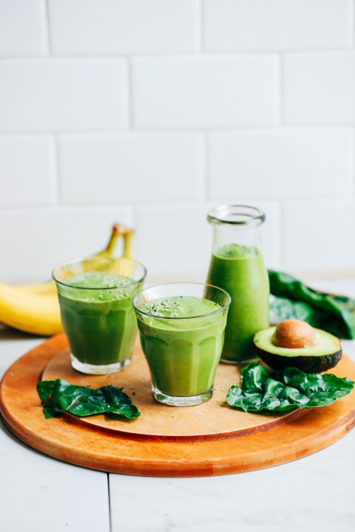 Avocado Smoothie Natural