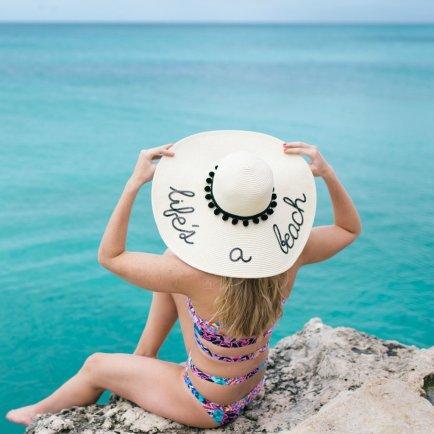 Life's A Beach Hat