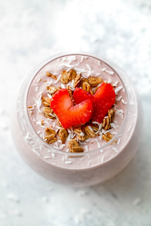 Strawberry & Oatmeal Shake