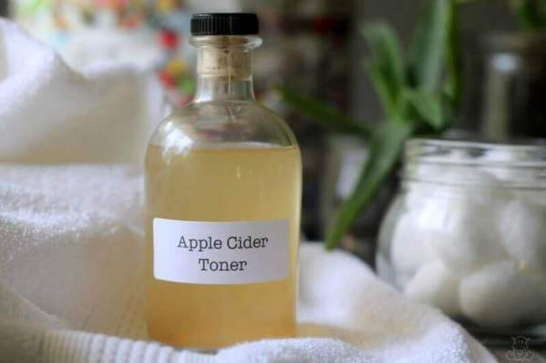 Apple Cider Vinegar Toner Acne