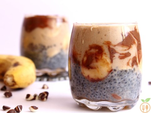 Fiber Chia Seeds Smoothie