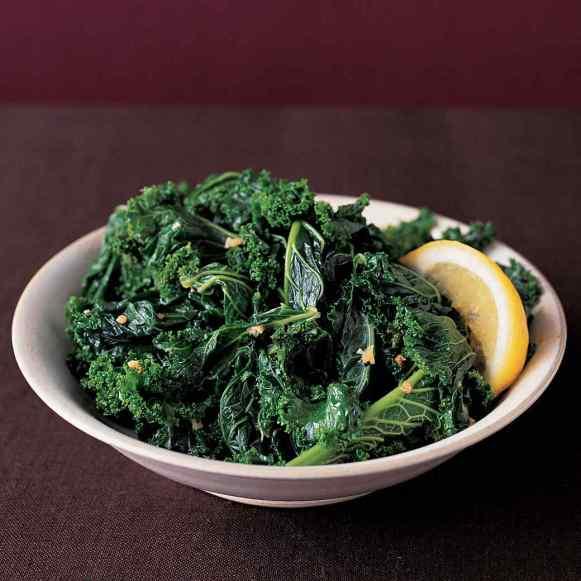 Sauteed Garlic Kale