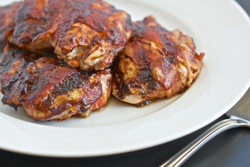 Paleo Bacon BBQ Chicken