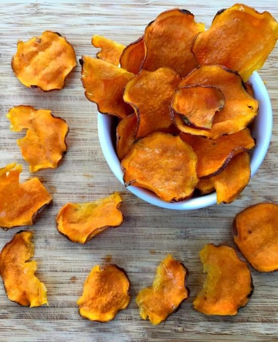 Sweet potato chips toddler