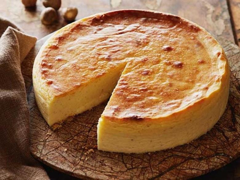 Greek cheesecake