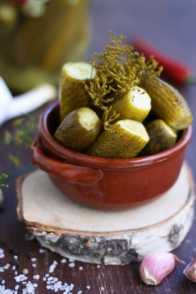 Pickled vegetables Russian