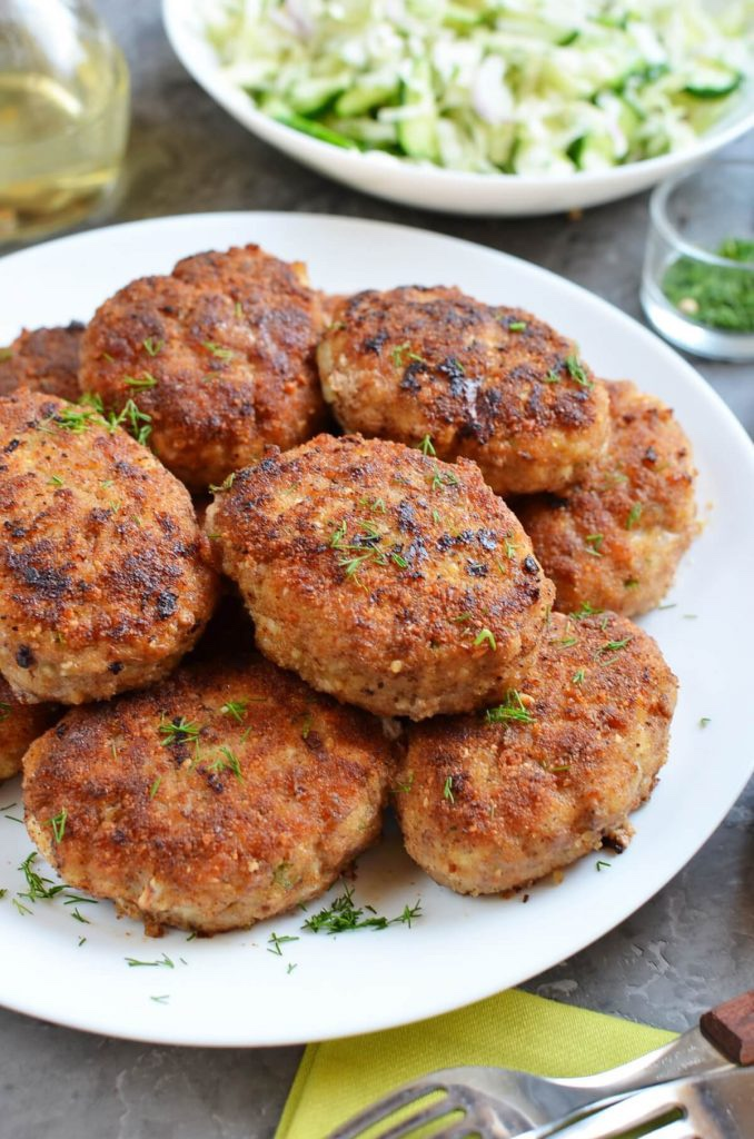 Russian chicken kotleti recipe