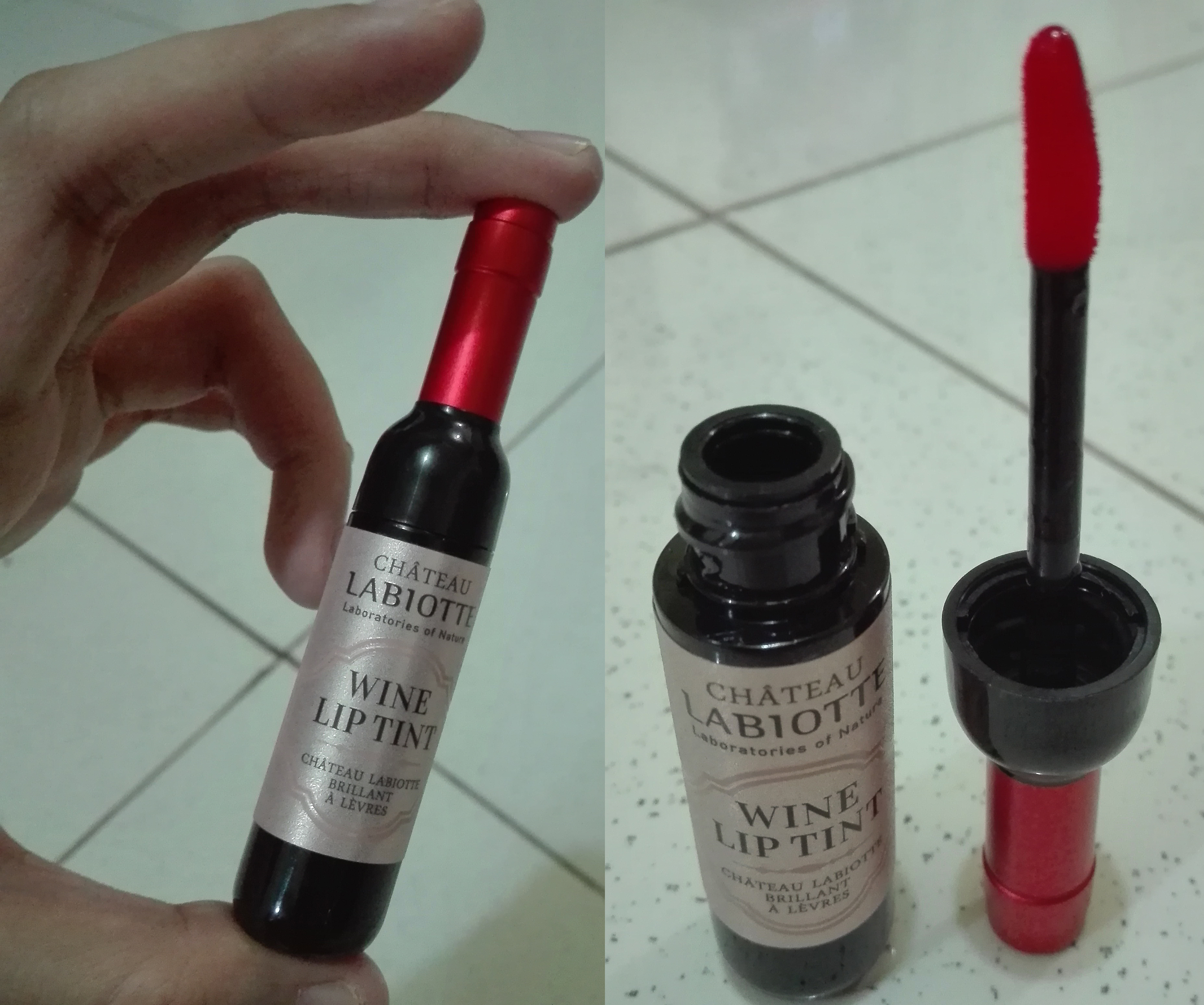 Review: Chateau Labiotte Wine Lip Tint in OR01