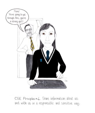 CSE principles 4 Share information