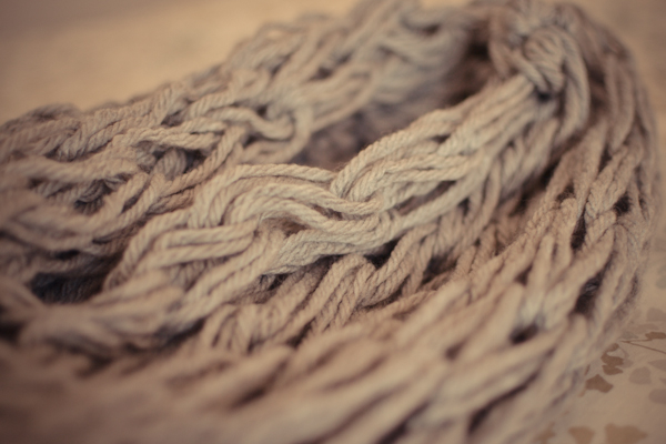 arm knitted scarf #thingsdeeloves -3