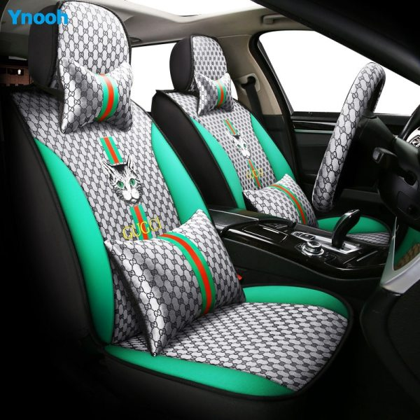 Gucci Inspired Car Seat Covers Or Pillow Sets
