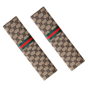 Gucci Inspired Seatbelt Covers 2pc Set
